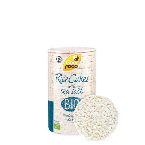 Bio/Eco/Organic rice and corn cakes