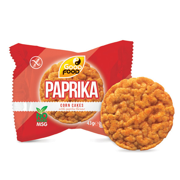 Paprika Corn Cakes On The Go
